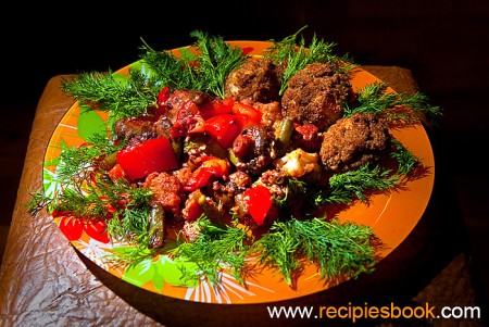 Блюда из брокколи: Брокколи по-крымски с кунжутом