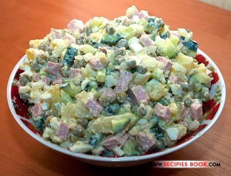 Настоящий салат Оливье - классический рецепт с фото