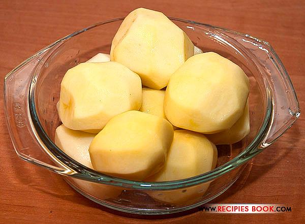 картофель очищеный