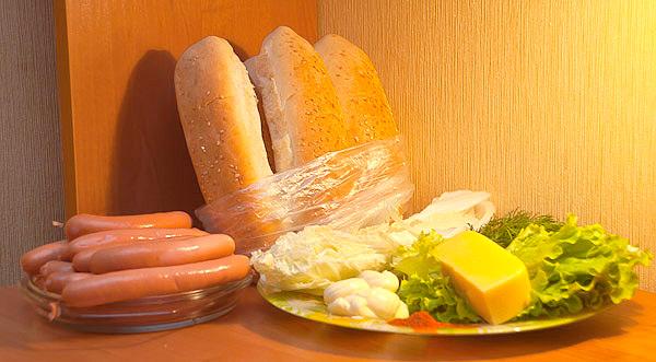 приготовление хот-догов