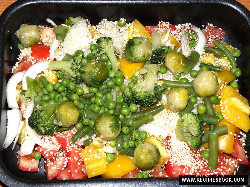 Замороженные брокколи в духовке рецепт 113