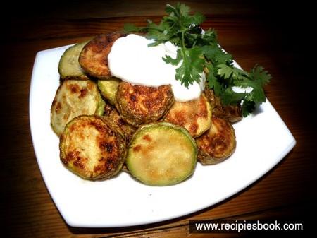 Блюда из кабачков: жареные кабачки рецепт с фото