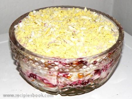 Классический салат сельдь под шубой с пошаговыми фото