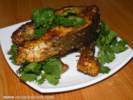 Блюда из горбуши: запеченная горбуша со специями